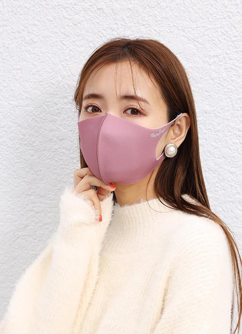 秘密のピンク 血色マスク